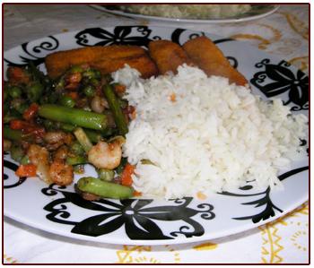 Sabordelmundo - Arroz con pescado y verduras ...